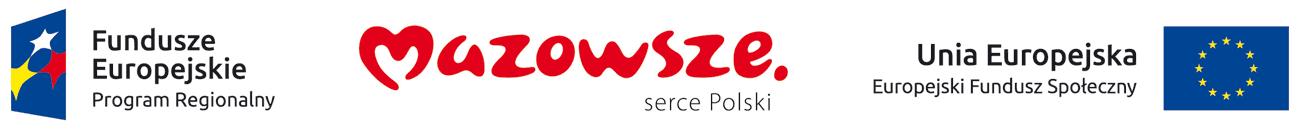 Fundusze Europejskie - EFS - Mazowsze