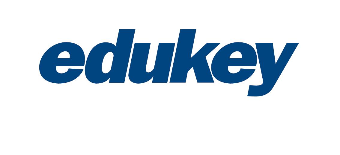 Logo Edukey odwrócone kolory